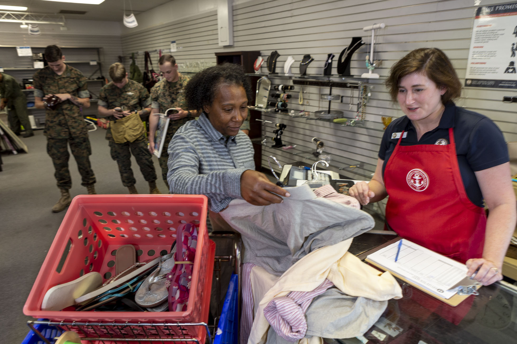Thrift Shops - Clothing, Uniforms & Household Goods | NMCRS